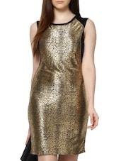 Shiny Party Bodycon Dress - MARTINI