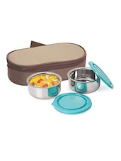 Stainless Steel Insulated Lunch Box - NanoNine - 1031981