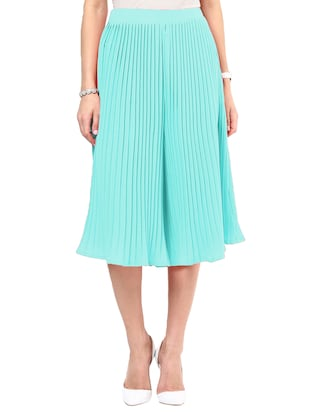 blue casualCulottes