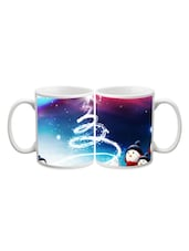 Cute Snow Man Printed Mug - Start Ur Day