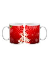 Star Christmas Tree Printed Mug - Start Ur Day