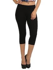 black capri legging -  online shopping for Capris