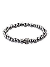 Nezaro Black Stainless Steel Bracelets - By