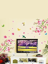 Attractive Wall Stickers Flowers TV Background Branch LED LCD Living Area Decoration  PVC Vinyl   Online Shopping Part 17
