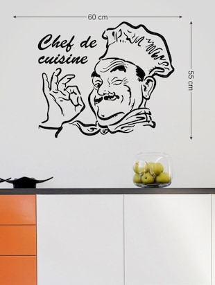 Stickers De Cuisine buy wall stickers kitchen stylish design chef de cuisine restaurant