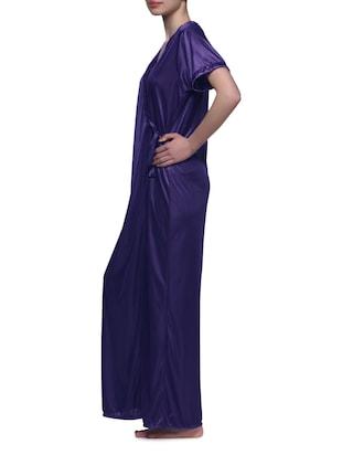 fashion styles online retailer half off Maxi Satin Robe