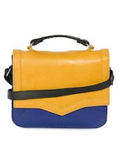Color Block Attached Sling Bag - Adaira