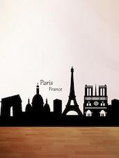 City Of Paris Wall Sticker - Decor Kafe