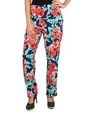 Floral Print Crepe Pant - Fashion205