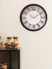 ECraftIndia Decorative Retro Wall Clock - 12 Inch - By