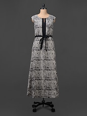 Sequin Poly Crepe Maxi Dress - Colbrii