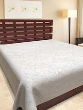 Cotton Gold Print Single Bed Sheet - Silkworm