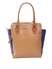 Multi Zipper Spacious Shoulder Bag - Adaira