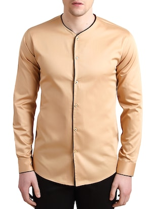 Alvin Kelly Beige Cotton SHIRT