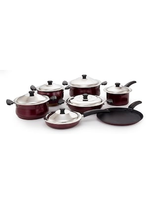 Induction Non Stickcookware Set of 13 Pcs -  online shopping for Cookware Sets
