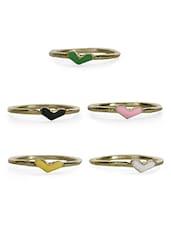 Valentine Love Ring Set - Crunchy Fashion