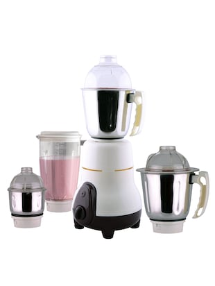 anjalimix mixer grinder  euro 750 watts  with 4 jars (ivory)