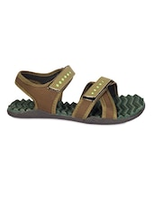 Velcro Closure Green Floaters - Roha Collection
