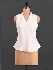 Sleeveless Polyester Top - Thegudlook