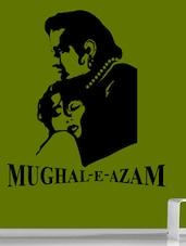 """ Mughal-E-Azam "" Wall Sticker - Creative Width Design"
