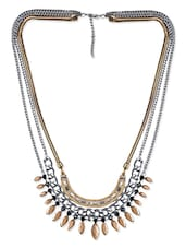 Multicolour Metal Alloy Necklace - By