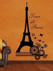 """ Tour De Paris "" Wall Sticker - Creative Width Design"