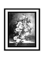 Flower Vase Canvas Painting - Thousand-brushes