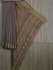 Bengal Handloom Resham And Assam Muga Saree - Cotton Koleksi