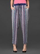 PRINTED Side Pocket PANTS - Global Colours