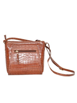 brown leather sling bag - 10707867 - Standard Image - 2