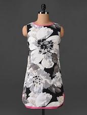 Sleeveless Floral Print Dress - CHERYMOYA