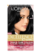 L'Oreal Paris Excellence Creme, Black 01,72ml+100g - By
