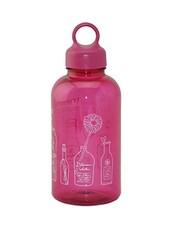 Pink Loop Cap Printed Bottle - Lock & Lock