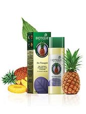 Biotique Skin Care Foaming Face Cleanser Pineapple Fruit Gel,120ml (Pack Of 2) - By