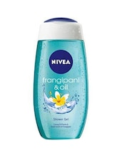 Nivea Frangipani And Oil Shower Gel - 250ml (Pack Of 2) - By