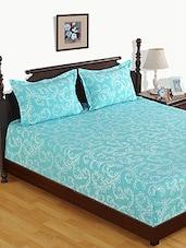 Printed Cotton Bed Linen Set - Skipper - 1076255