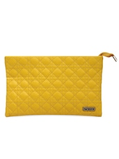 Yellow Faux Leather Sling Bag - Bern