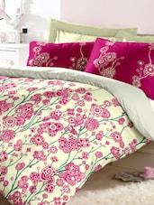 Floral Vine Cotton Bedsheet Set - Raymond Home