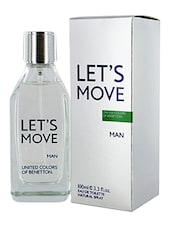 United Colors of Benetton Let's Move EDT Perfume for Men 100ml -  online shopping for Men Perfumes