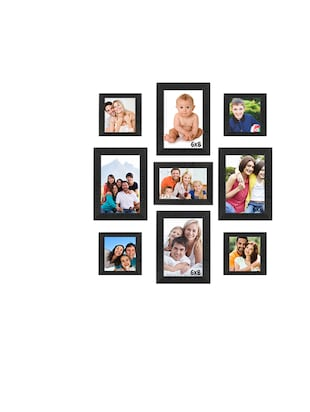Buy Sifty Collection Collage Photo Frame(6x8) 4, (5x5) 4, (7x5) 1 ...