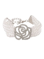 Multilayered Pearl Beaded Bracelet - Young & Forever