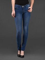 Skinny Fit Stretchable Denim Jeans - Ursense