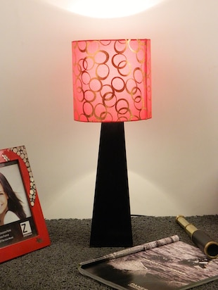Buy Mango Wood Facinating Table Lamp With 7
