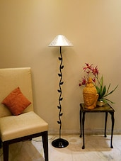 Floor lamp buy standing wooden floor lamps online in india zig zag leafy floor lamp with 13 pyramid shade online shopping for aloadofball Image collections