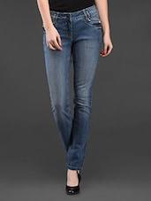 Blue Denim Skinny Fit Jeans - SPECIES