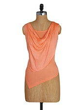 Cowl Neck Sleeveless Top - Amari West