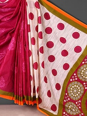 Multicolor Printed Printed Cotton Saree - Kamal Sarees