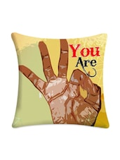 """""""You Are Perfect """"Printed Cushion Cover - Mesleep"""