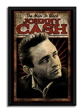Johnny Cash Man In Black Framed Poster (Without Glass) -  online shopping for Posters