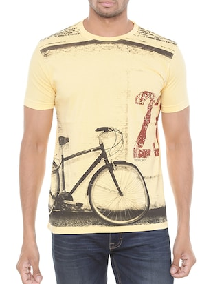 yellow cotton tshirt